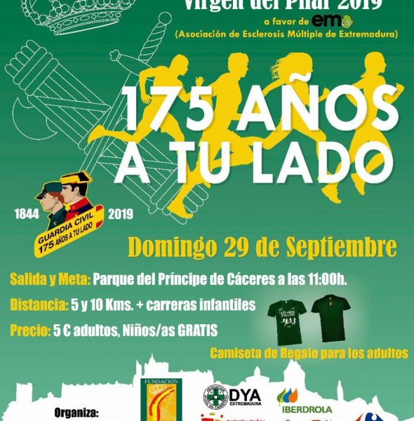 IX Carrera Solidaria «Guardia Civil Cáceres»