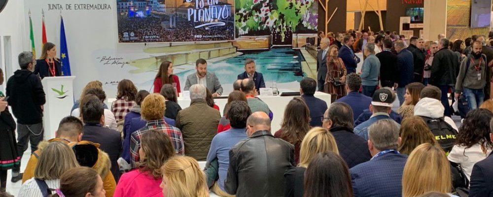 Cáceres presenta sus planazos en la Feria Internacional de turismo de Madrid